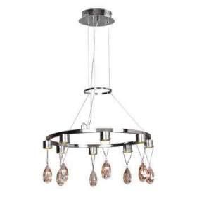 Lampa wisząca Prisma zwis 8x3W LED chrom