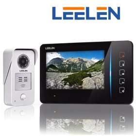 """LEELEN Wideodomofon 7"""" N60/No15nc+3xbrelok (z czytnikiem)"""