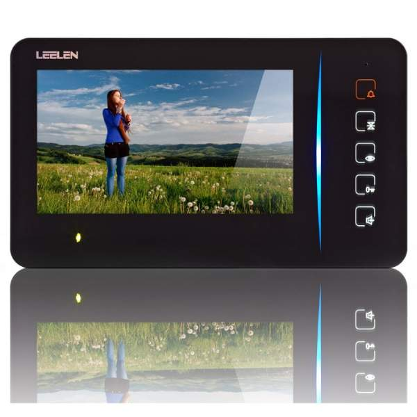 """Wideodomofon 7"""" N60/No15nc+3xbrelok (z czytnikiem)"""