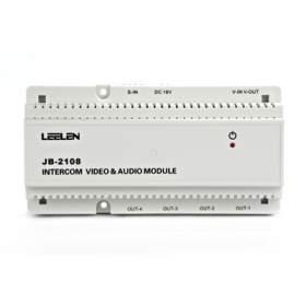 LEELEN Moduł instalacyjny Audio-Video z pamięcią obrazów L8-5108 - na szynę DIN (JB-5000)