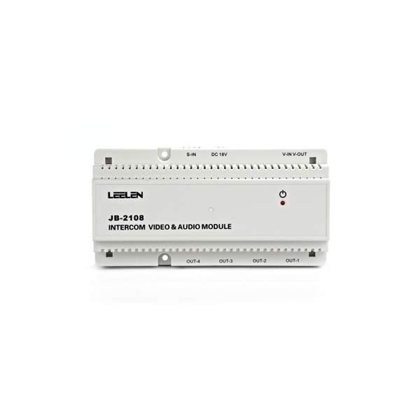 Moduł instalacyjny Audio-Video z pamięcią obrazów L8-5108 - na szynę DIN (JB-5000)