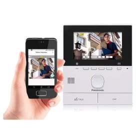 Panasonic wideodomofon VL-SFN511FX z WiFi, 2żyły