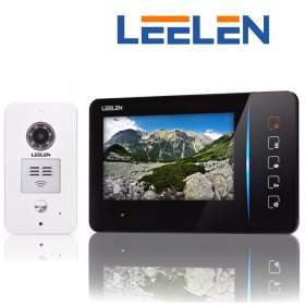 """LEELEN Wideodomofon 7"""" N60/No15pc+3xbrelok (z czytnikiem)"""
