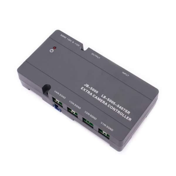Moduł 4 kamer - JB5000_CCTV na szynę DIN