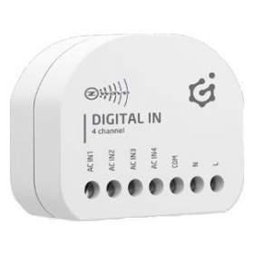 Grenton Bezprzewodowy moduł wejść cyfrowych DIGITAL IN Z-Wave montaż podtynkowy