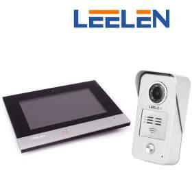 """LEELEN Wideodomofon 7"""" N75B/No15nc+3xbrelok (z czytnikiem)"""