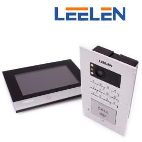 LEELEN Wideodomofon 7cali N75B/No18pc+3xbrelok (z czytnikiem)