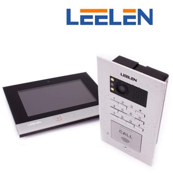 Wideodomofon - 7cali N75B/No18pc+3xbrelok (z czytnikiem)