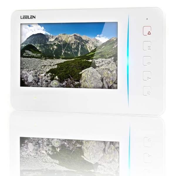 """Wideodomofon 7"""" N60/No15pc+3xbrelok (z czytnikiem)"""