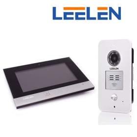 """Wideodomofon 7"""" N75B/No15pc/DIN+3xbrelok (z czytnikiem)"""