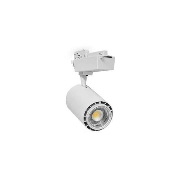 Oprawa szynowa LED SCENA CTA 45 45W, kolor biały