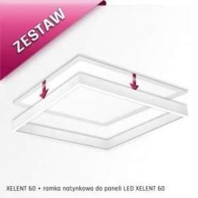 ZESTAW ! Oprawa XELENT 60 50W neutralna biała + ramka do montażu natynkowego