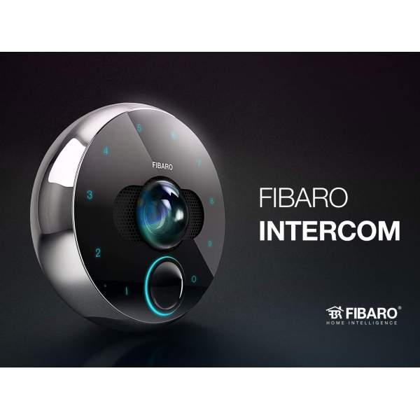 Fibaro Wideodomofon WiFi, Bluetooth, Full HD, karty pamięci SD FGIC-001
