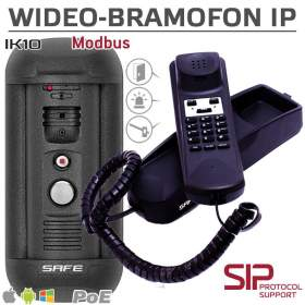 Wideodomofon S06MP + Telefon S65IP