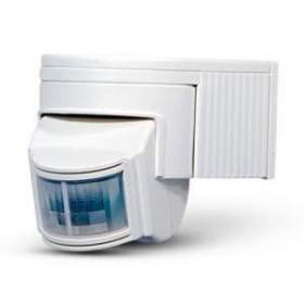 Czujnik ruchu ES-40 180° kolor biały, IP44