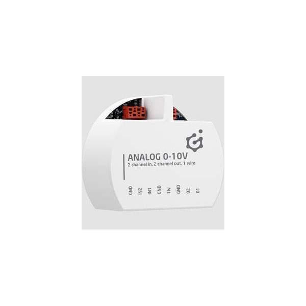 Grenton Moduł wejść/wyjść analogowych do montażu podtynkowego ANALOG IN/OUT 0-10V TF-Bus