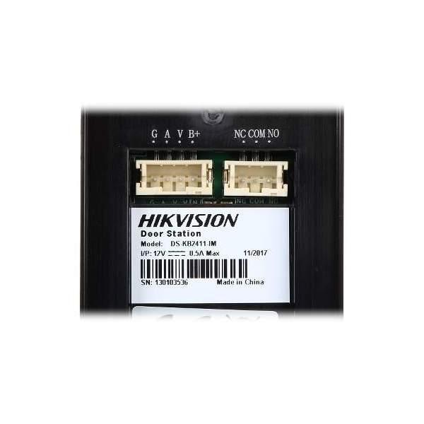 Jednorodzinny wideodomofon Hikivision DS-KIS202