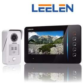 LEELEN Wideodomofon 7cali JB305_N60/No15nc+3xbrelok (z czytnikiem)