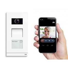 Wideodomofon ABB działający z tabletem i telefonem