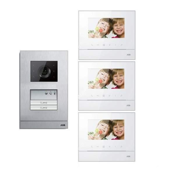 Zestaw wideo 3-rodzinny ABB WELCOME BASIC