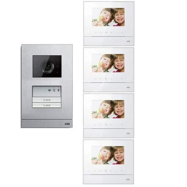 Zestaw wideo 4-rodzinny ABB WELCOME BASIC