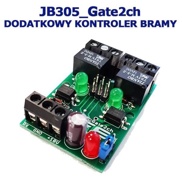 Moduł sterujący bramą - 2 kanały JB305_Gate2ch