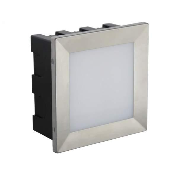 Oprawa MUR LED INOX D 04 IP65 3000K 3,5W