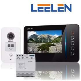 """Wideodomofon 7"""" JB305_N60/No15pc+DIN + 3xbrelok (z czytnikiem)"""