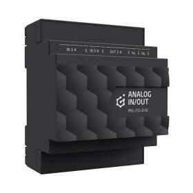Grenton 2.0 Moduł wejść/wyjść analogowych do montażu na szynie DIN, 0-10V, TF-Bus