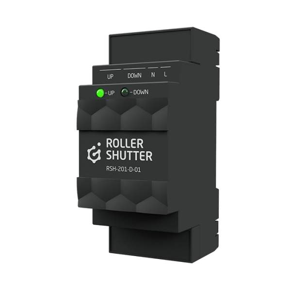 Grenton 2.0 ROLLER SHUTTER moduł sterowania roletami DIN, TF-Bus