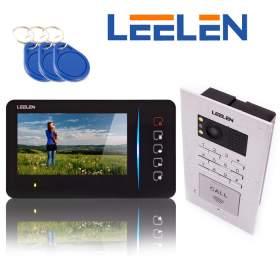 Wideodomofon 7cali JB305_N60/No18pc z szyfratorem i czytnikiem60/No18pc z szyfratorem i czytnikiem