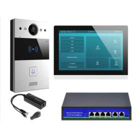 "Wideodomofon IP 10"" C317W Android WiFi"
