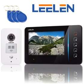 Wideodomofon 7cali JB305_N60/No15pc+3xbrelok (z czytnikiem)