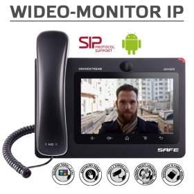 Wideomonitor GXV3370S dla urządzeń Safe IP