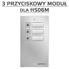 Rozszerzenie bezpośredniego wywołania do 3 abonentów dla bramofonów Safe IP - HP3