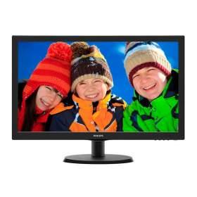 "223V5LHSB Philips monitor 223V5LHSB 21,5"" HDMI  czarny"