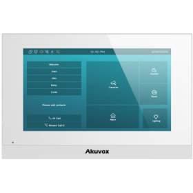 """AKUVOX C315W - Monitor 7""""IP z WiFi, biały, system Android"""