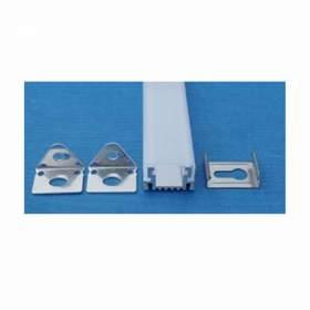 V-TAC Profil Aluminiowy   1000x16.76x10.3mm Wąski Płaski Klosz Przezroczysty VT-7101