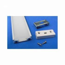 V-TAC Profil Aluminiowy   1000x16.9x12.48mm Wąski Okrągły Klosz Przezroczysty VT-7102