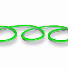V-TAC Neon Flex   24V IP68 Zielony 10mb Cięcie co 5cm 6,5W/m 260lm/m IP68 VT-554