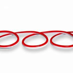 V-TAC Neon Flex   24V IP68 Czerwony 10mb Cięcie co 5cm 6,5W/m 260lm/m IP68 VT-554