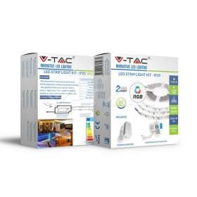 V-TAC Taśma LED   Zestaw SMD5050 60 RGB IP20 1000lm/m VT-5050