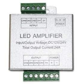 V-TAC Wzmacniacz Taśm LED RGBW RGBW 12V-144W 24V-288W   VT-2408