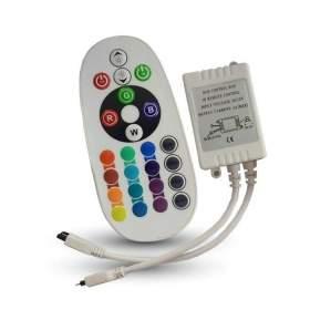 V-TAC Sterownik Taśm LED 72W Podczerwień 24 Przyciski   VT-2472