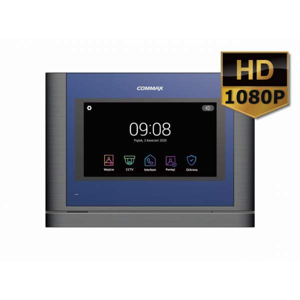 """CDV-70MF(DC) DARK SILVER Monitor 7"""" z serii """"Fine View HD"""" z doświetleniem LED"""