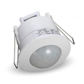 V-TAC Czujnik Ruchu Sufitowy 360st Wpuszczany Okrągły Biały VT-8029