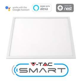 V-TAC Panel LED   SMART 40W 600x600 3w1 Kompatybilny Amazon Alexa i Google Home 4000lm VT-5140