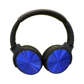V-TAC Bezprzewodowe Słuchawki Bluetooth Obrotowe 500mAh Niebieskie VT-6322