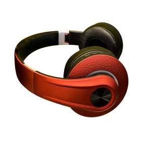V-TAC Bezprzewodowe Słuchawki Bluetooth Regulowany Pałąk 500mAh Czerwone VT-6322