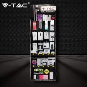 V-TAC Ekspozytor Regał   Audio Video GSM